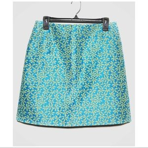 CONTEXT | RETRO PSYCHEDELIC SILK FLORAL SKIRT